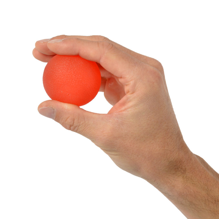 BALL SQUEEZE LEVEL 2 SOFT RED