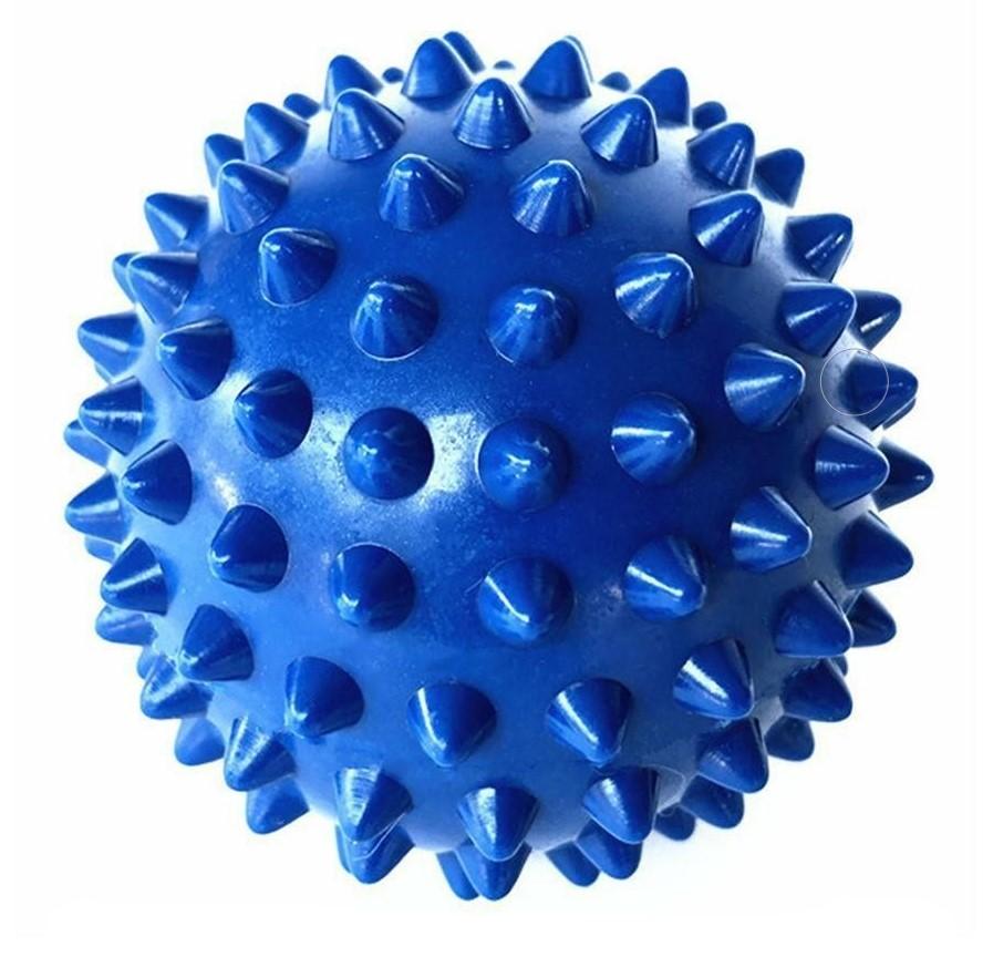 BALL MESSAGE 10 CM BLUE