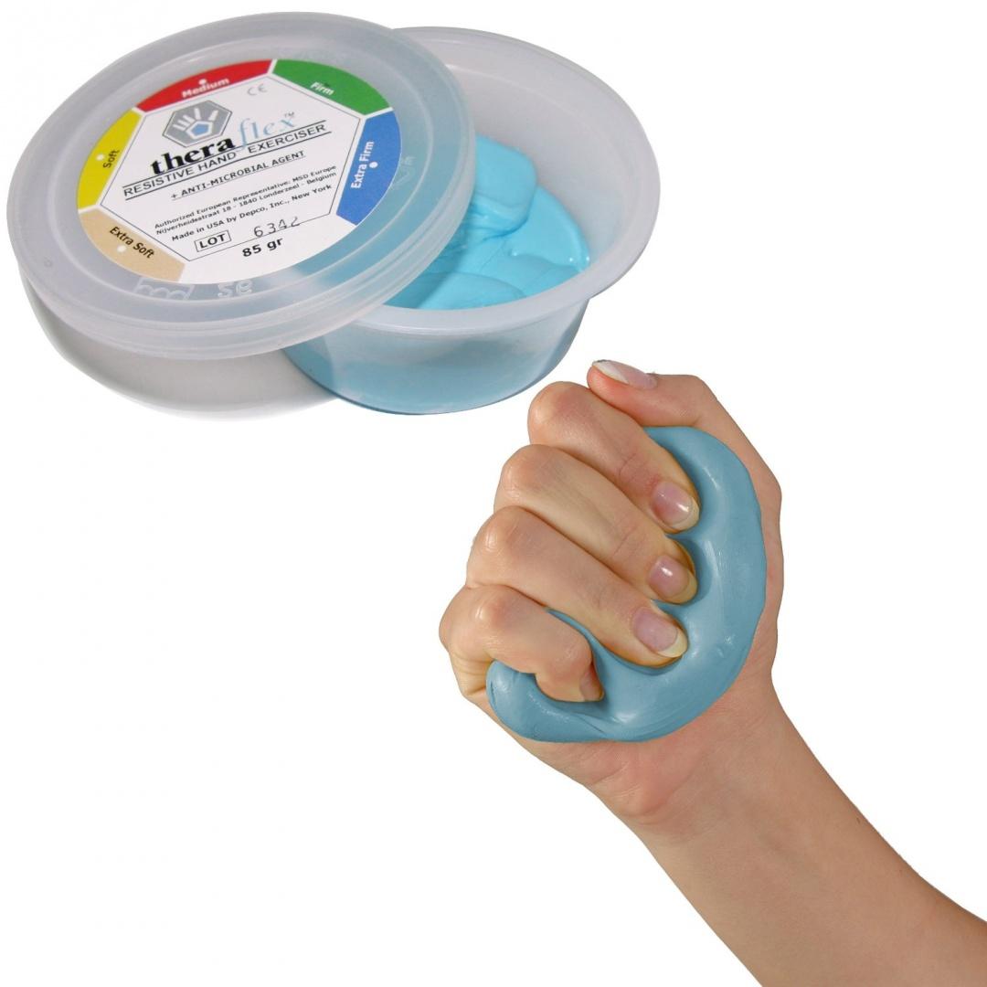 THERAFLEX PUTTY EXTRA FIRM BLUE 170GR