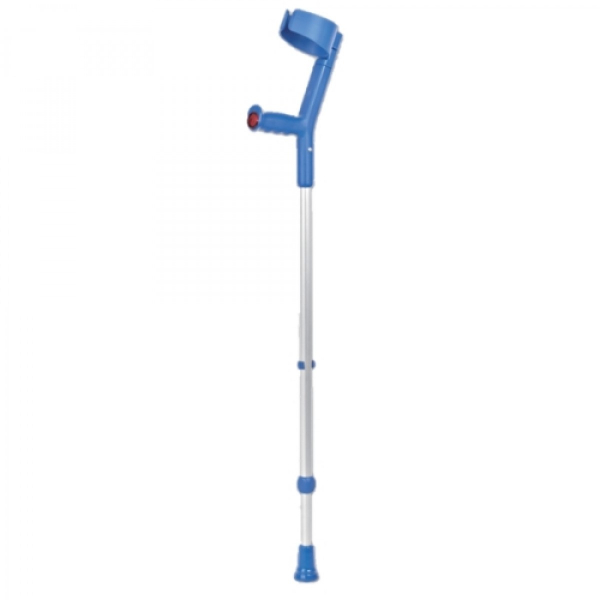 CRUTCH DOUBLE ADJUSTABLE TURQUISE PAIR