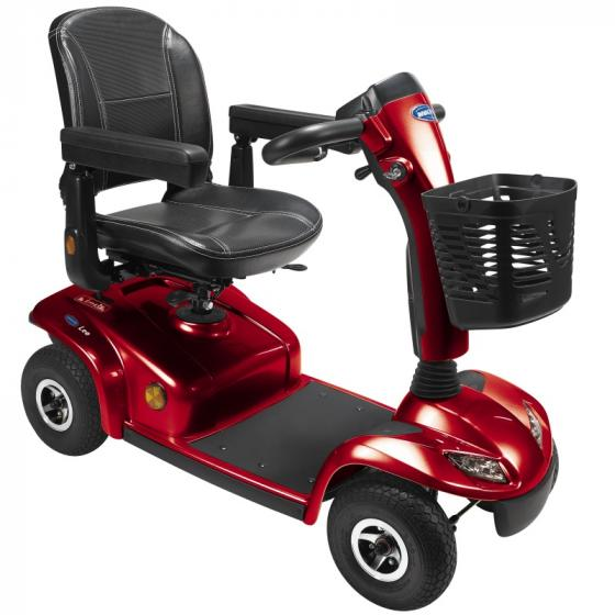SCOOTER LEO 4 WHEEL RED BATTERIES INCLUDED
