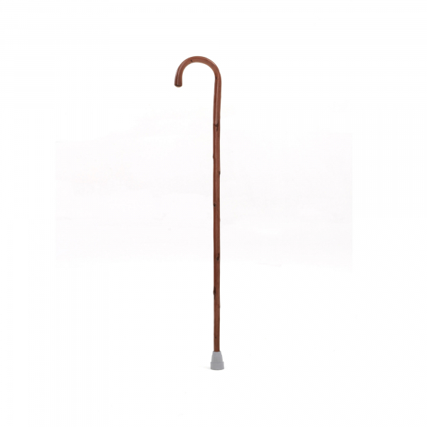 WALKING STICK WOODEN CROOKED
