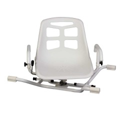 BATH CHAIRL WITH TURNABLE TOP ALUMINIUM