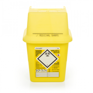 SHARPS CONTAINER 4 LT