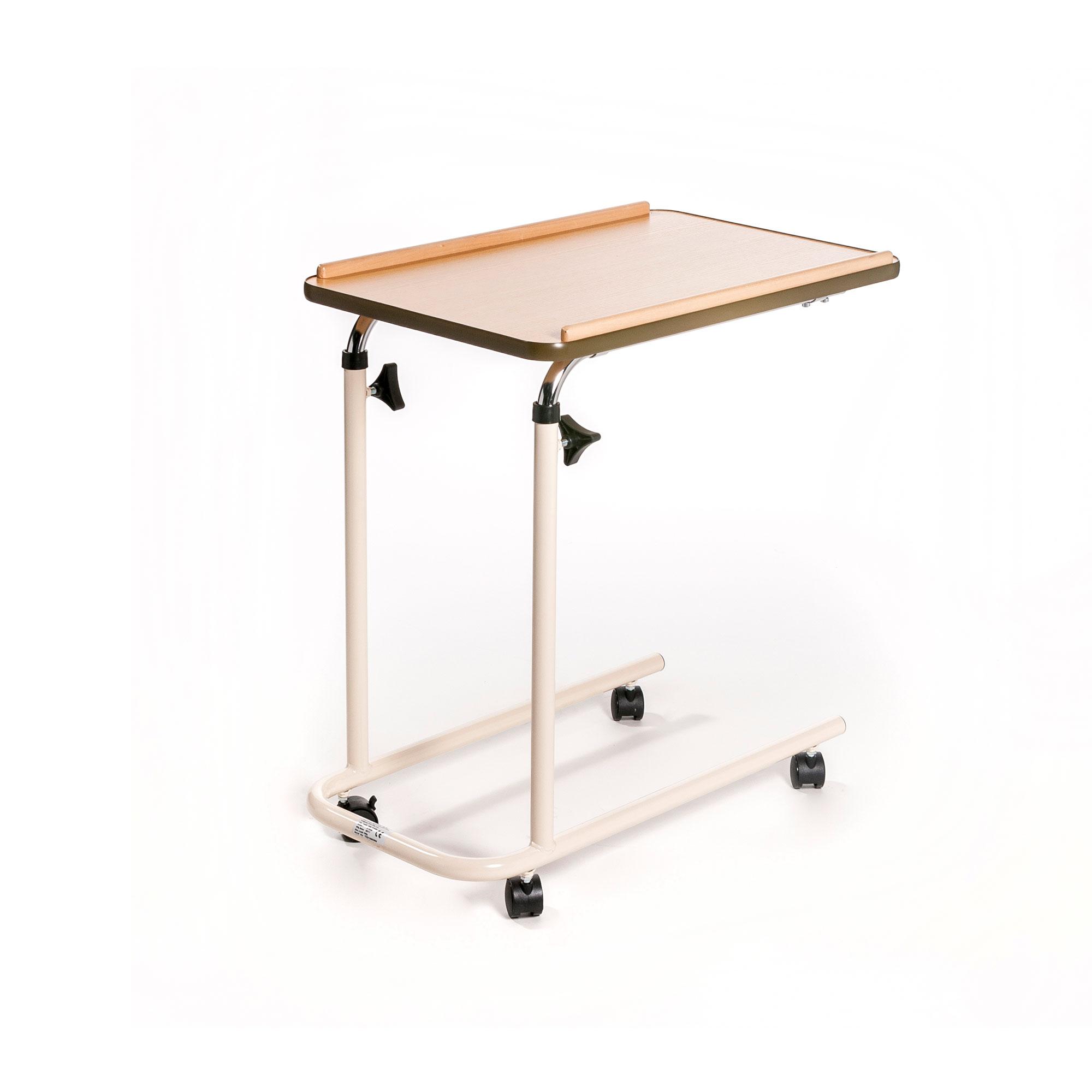 TABLE FOR BED CASTORS BEIGE 77 - 117 CM 10 KG MAX