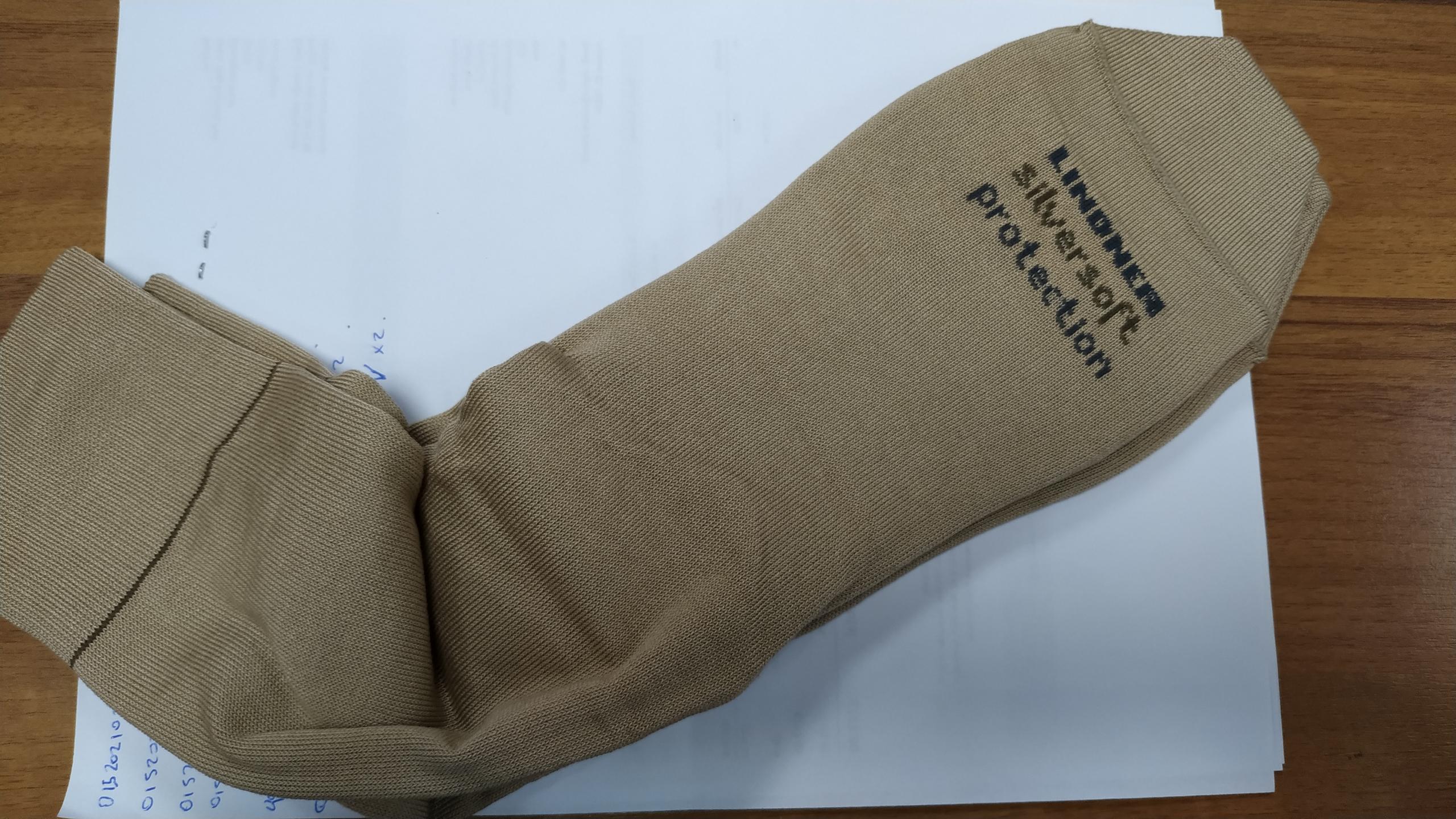 SOCKS DIABETIC DOUBLE WITH GEL SOLE 39 - 41 BEIGE