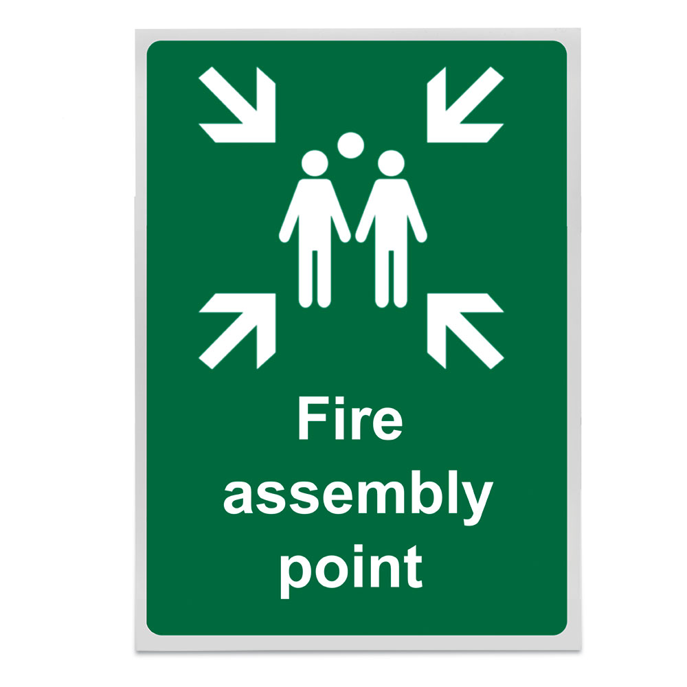 ASSEMBLY POINT SIGN 200X300