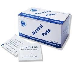 WIPES ALCOHOL PADS BOX OF 100