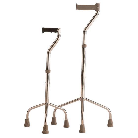 WALKING STICK TETRA POD ADULT 70 - 90 CM 100 KG