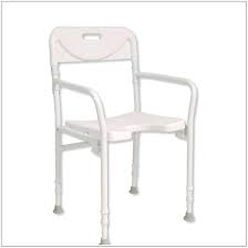SHOWER CHAIR FOLDING WITH ARM RESTS